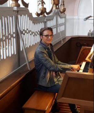 Organist Laurent Wehrsdorf
