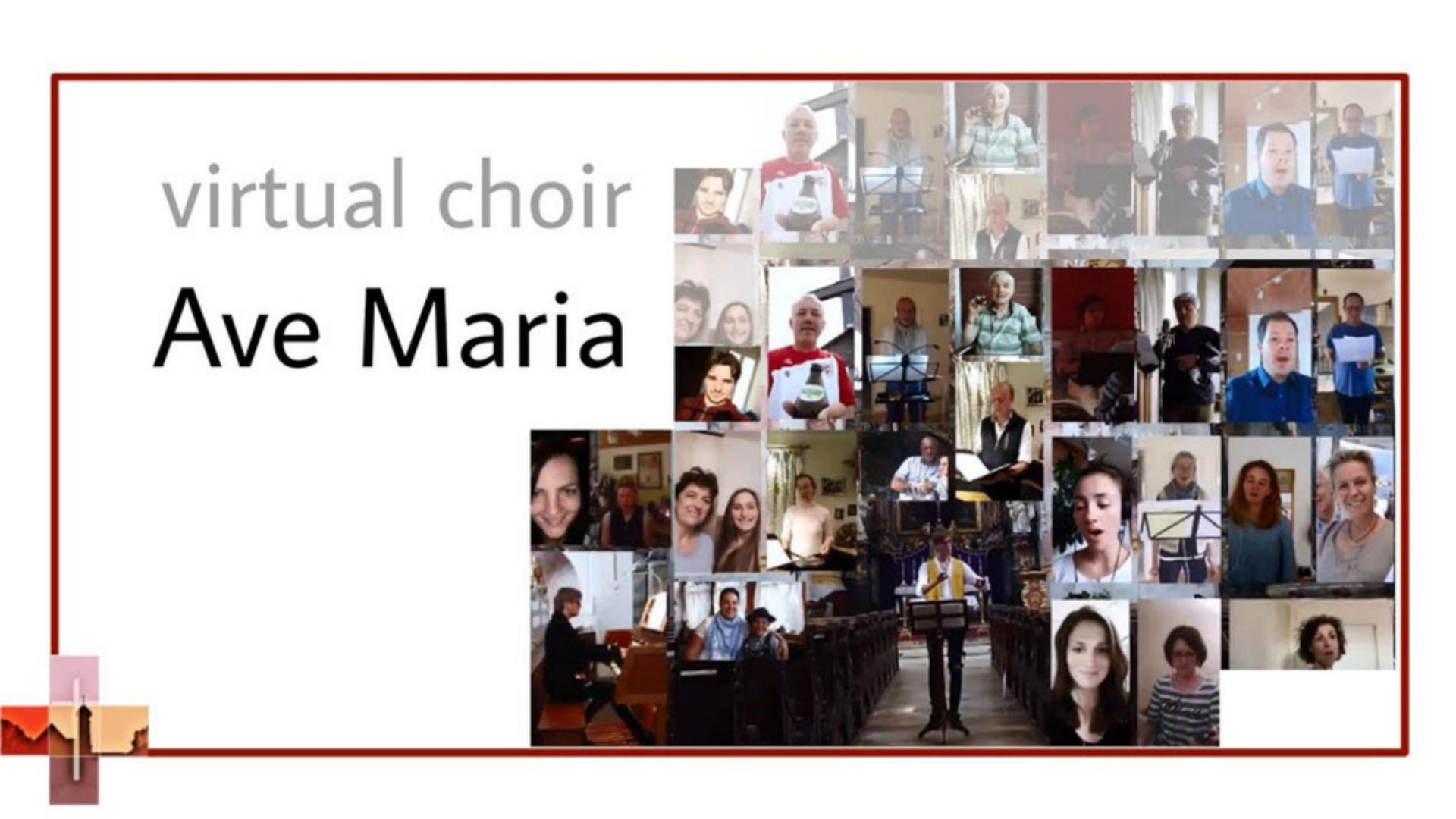 Coronagruß des Kirchenchores