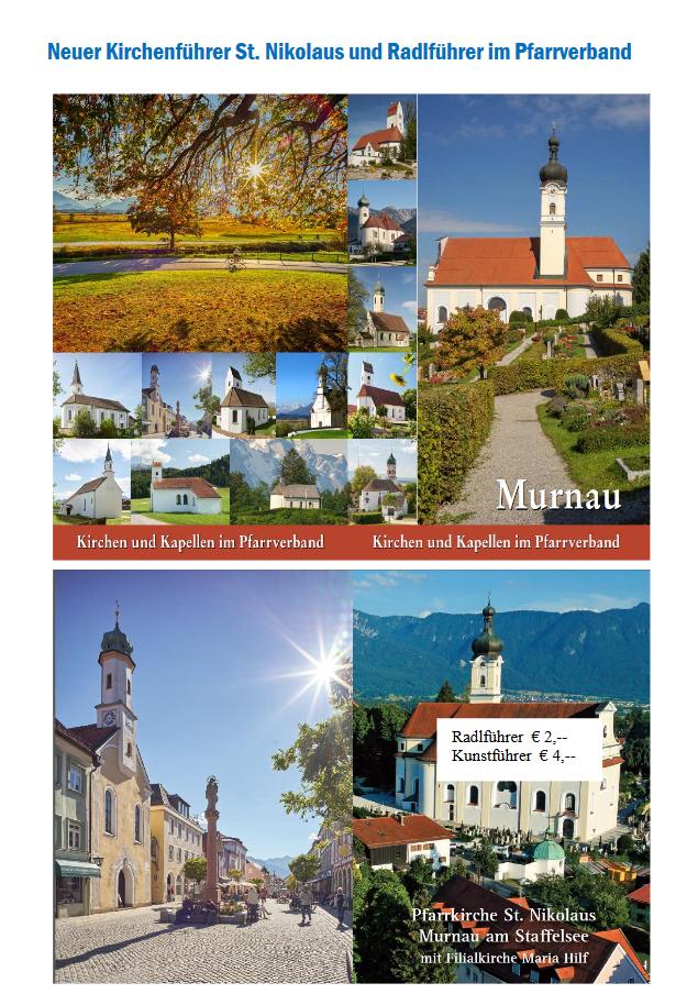 Neuer Kirchenführer St. Nikolaus und Radlführer im Pfarrverband