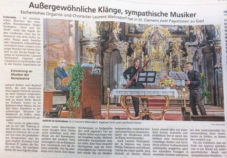 Aus dem Münchner Merkur vom 31.08.2021