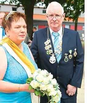 Das Kaiserpaar Hermann und Angelika Memering