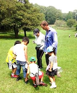 富雄・生駒の子供英会話スクールポイントクリア ウォーキングツアー