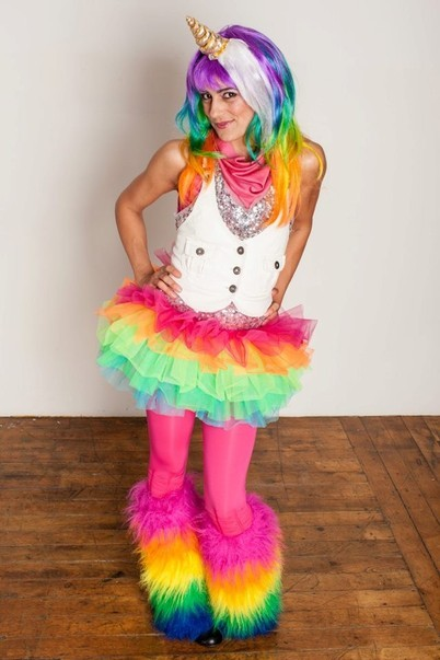 Sarah Stylisms Costumes Rainbow Unicorn