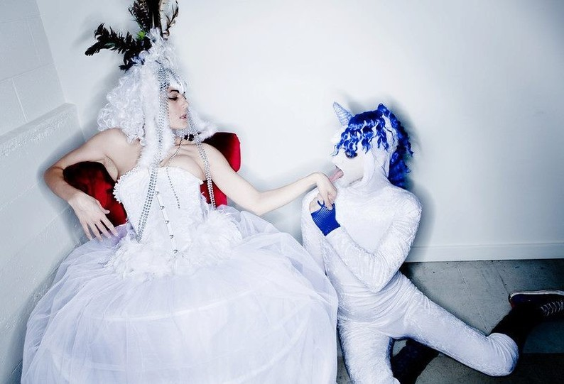 Sarah Stylisms Design Costumes Snow Princess & Splenduh the Unicorn!