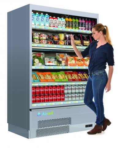 adande aircell kühlschrank für bistro kiosk