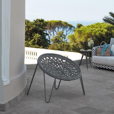 geflechstuhl balkonstuhl aus hochwertigemPVC für garten terrasse und Balkon Sifas Balkonmöbel