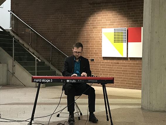 Jazz von Benedikt Moser zur Eröffnung der Ausstellung 14.02.2019