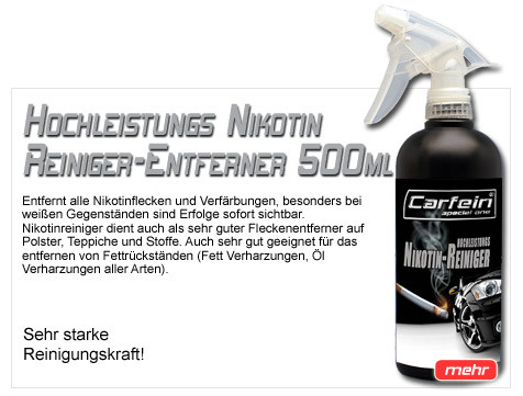 Carfein Nikotin Entferner