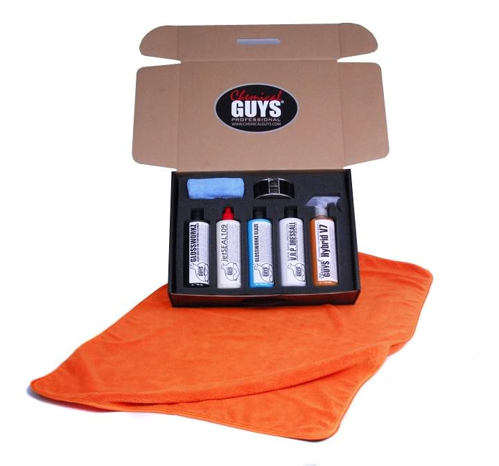 chemical guys mega gloss show shine kit autopflege shop. Black Bedroom Furniture Sets. Home Design Ideas