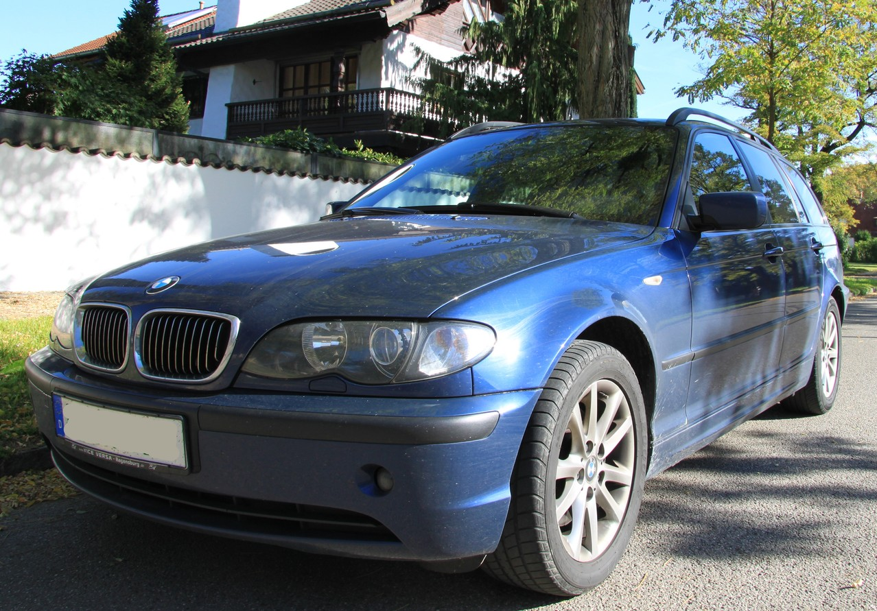 bmw e46 touring mit 180tsd km komplettaufbereitung. Black Bedroom Furniture Sets. Home Design Ideas