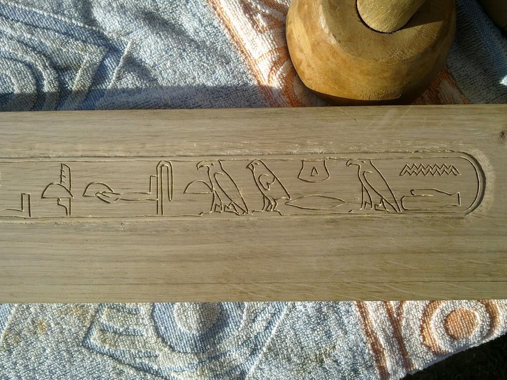 detail gravure hiéroglyphe 4