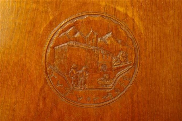 Les pèlerins, chapelle d'Arambeltz engravings Vincent Pilard