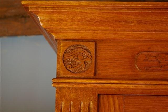 Oeil d'Horus engravings Vincent Pilard