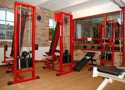 Fitness Erdgeschoss