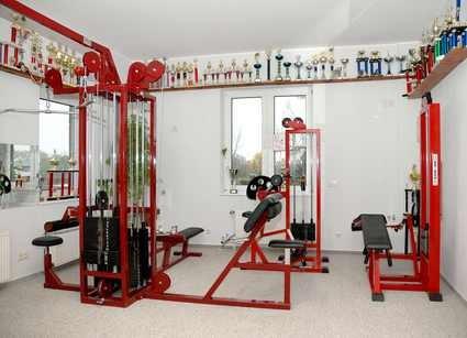 Fitness erster Stock