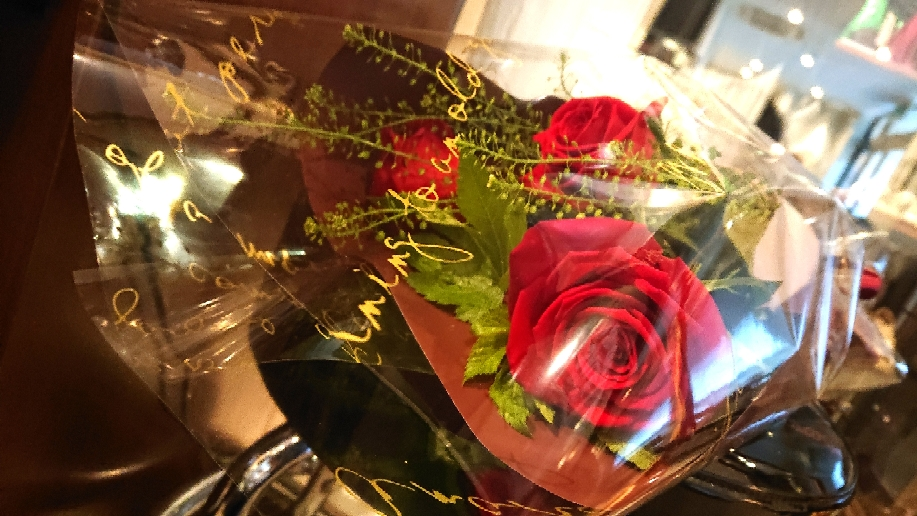赤い薔薇🌹
