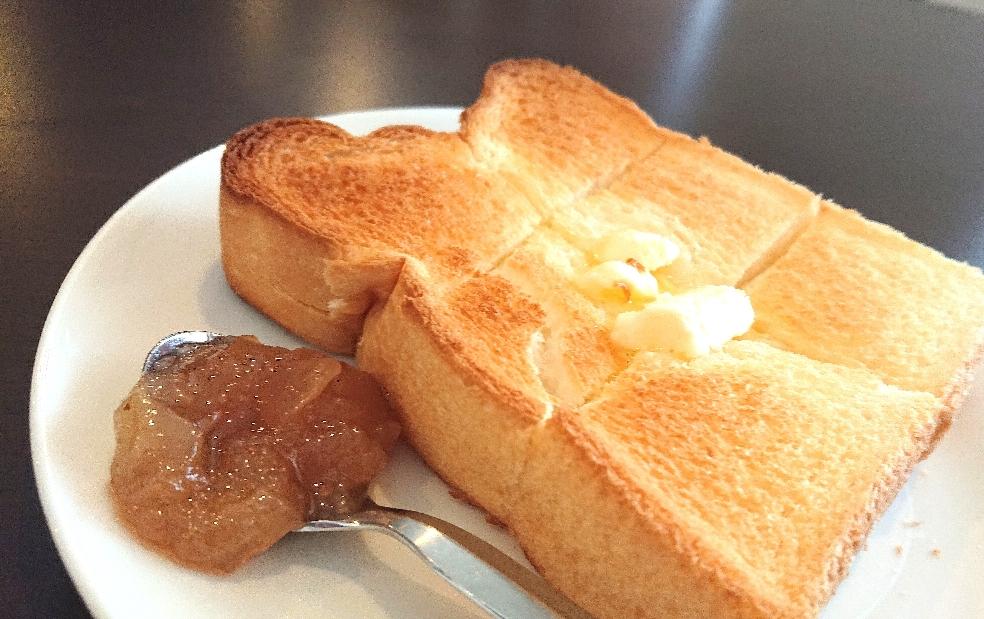 厚切りトースト‼️