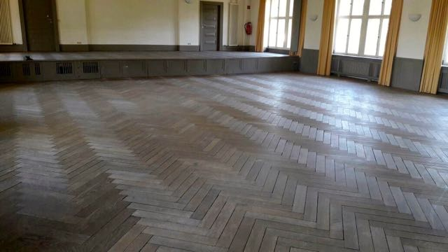 Parkett schleifen Furtwänglerstrasse Wannsee Berlin