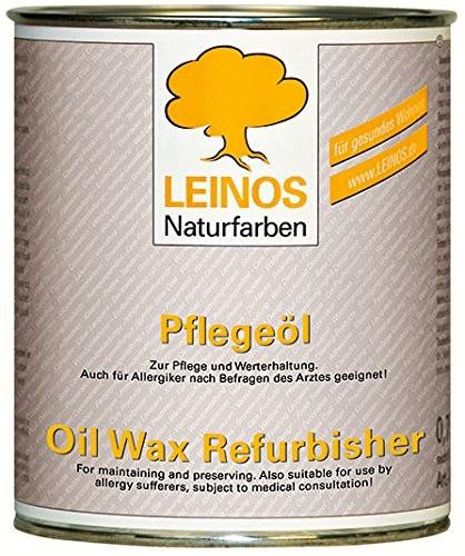 Pflegeöl / Ölwäsche von Leinos zum Reinigen von verschmutzten Dielen und Parkettböden