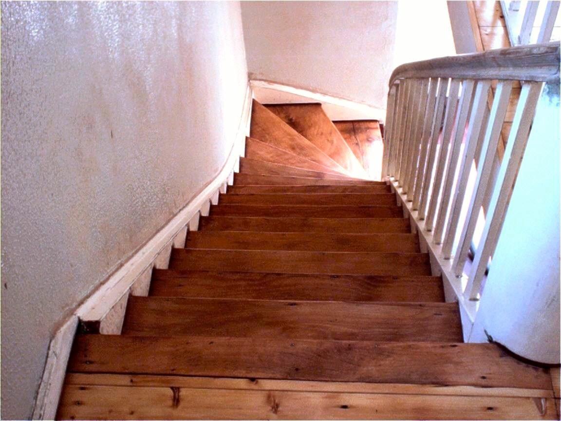 Treppe mit Holzhartöl behandelt