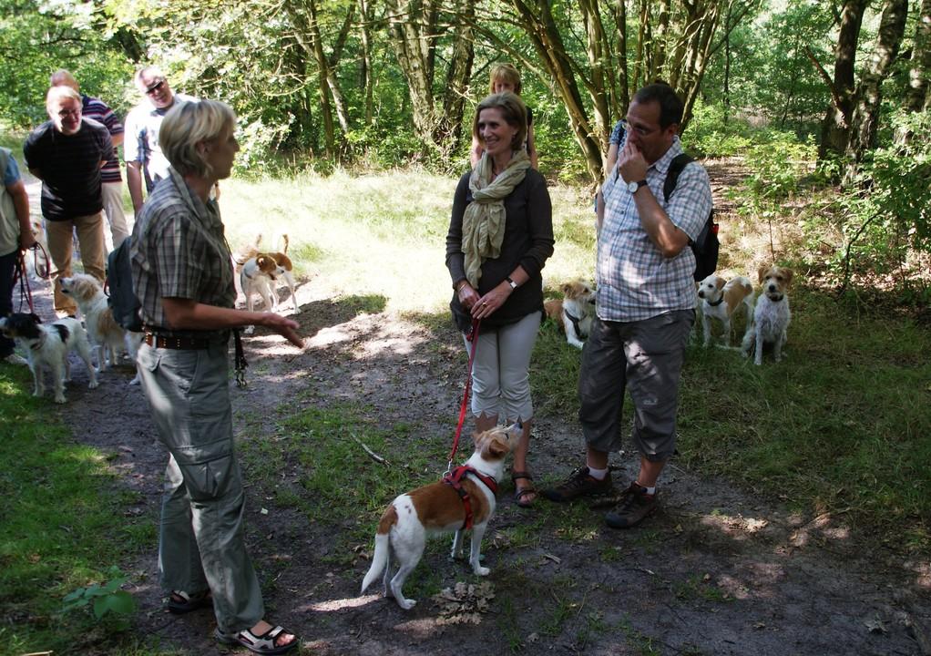 die Kieler Freunde mit Greta werden von Ch.St. vorgestellt.
