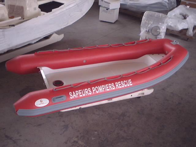 CAPELLI TEMPEST 430 WORK - CUSTOM - Rubberboot Holland Aalsmeer