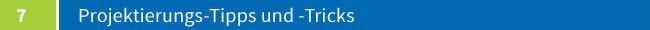 Projektierungs- Tipps und -Tricks