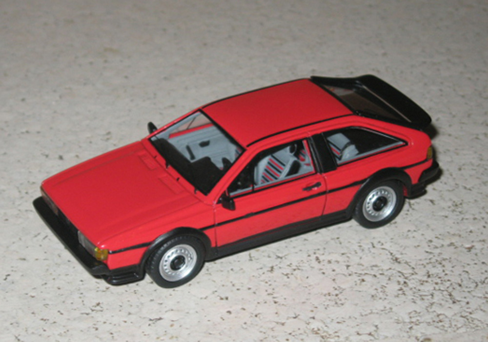Scirocco II GT 1986, rot