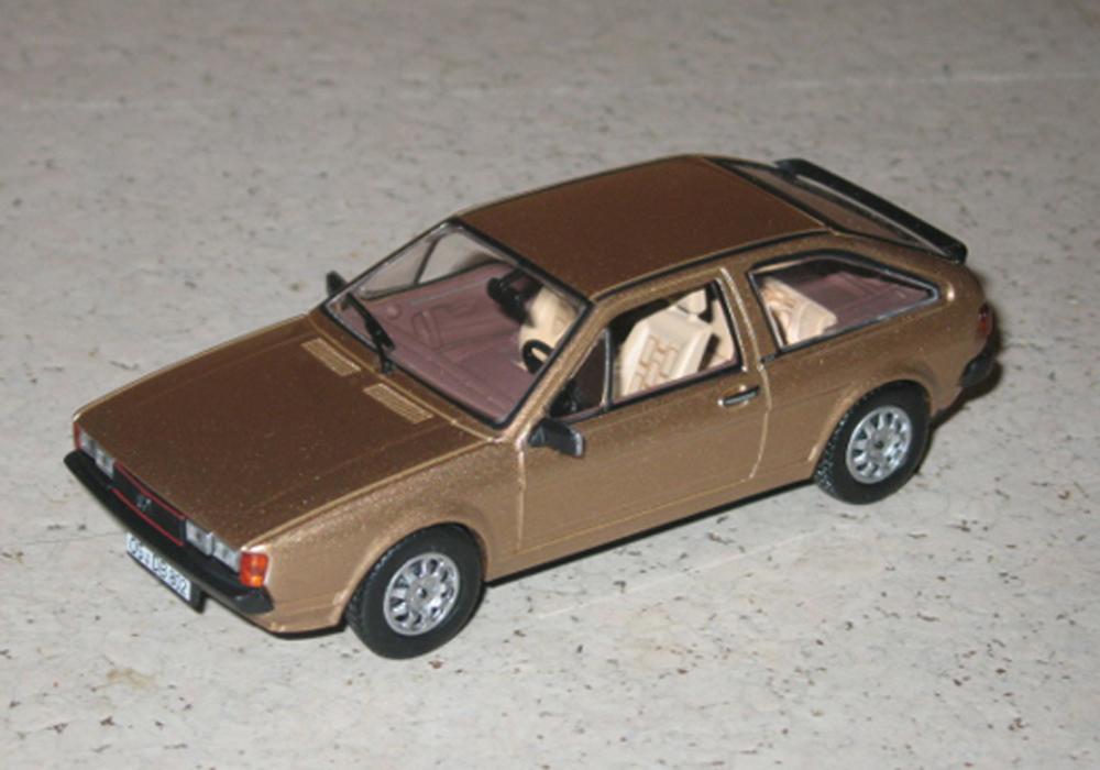 Scirocco II GT, gold metallic