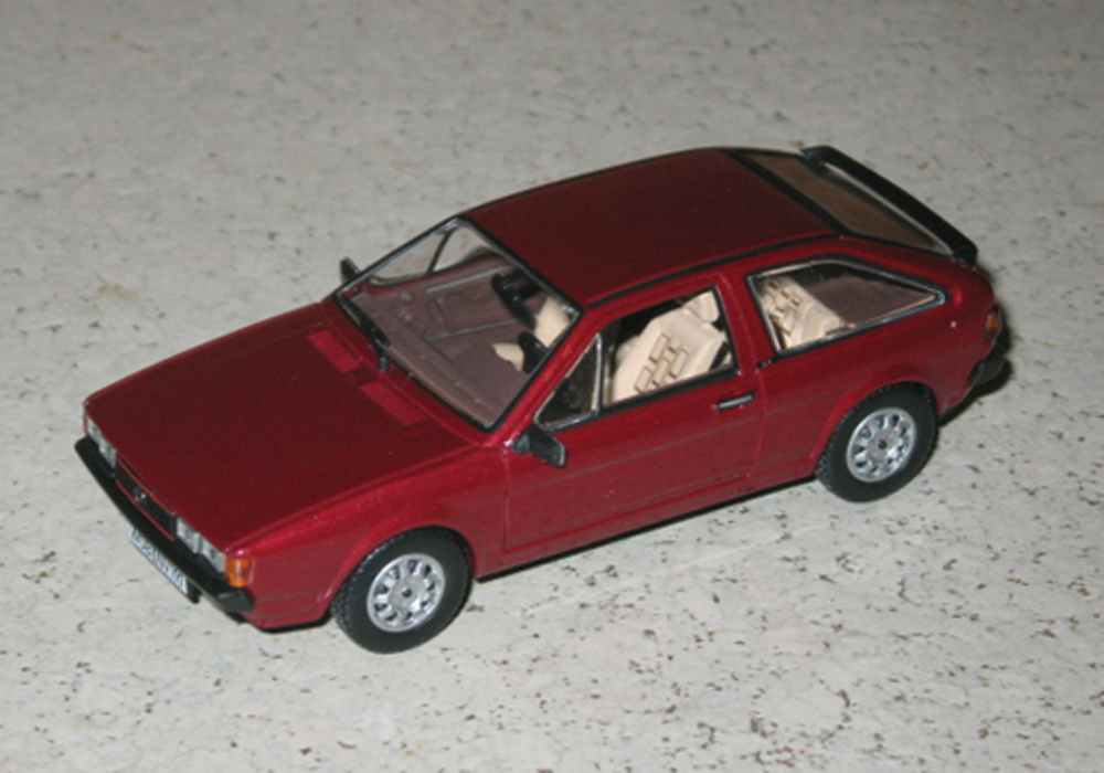 Scirocco II GT, rot