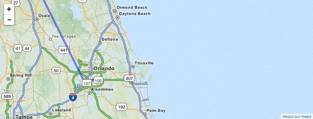 Orlando 10'107.8 Km