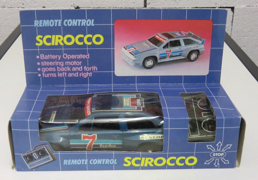 Scirocco II, mit Originalverpackung