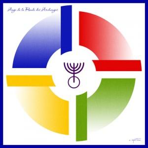 Ronde des Archanges mandala créé par Olivier Manitara