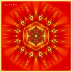 Terre-Mère mandala créé par Olivier Manitara