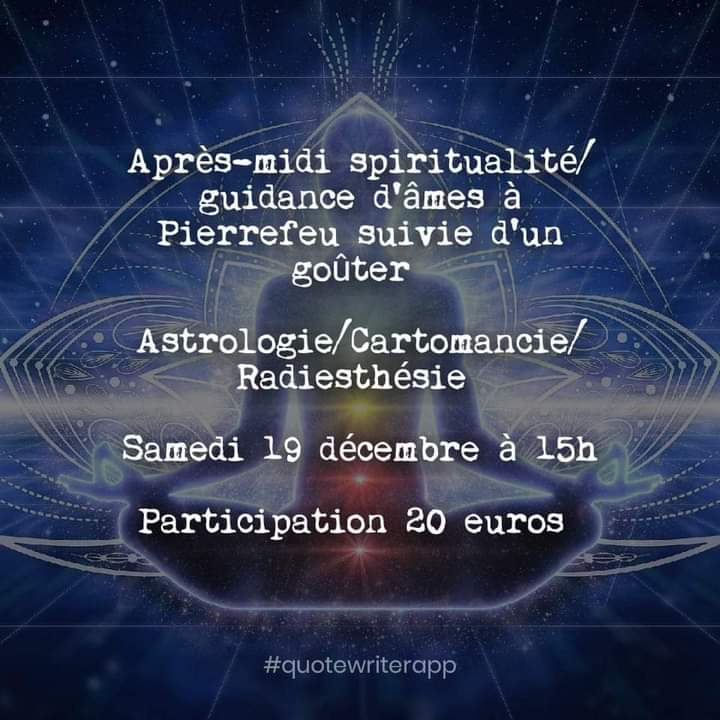 après midi spiritualité astrotopia astrologie astrothérapie la garde puget ville var pierrefeu