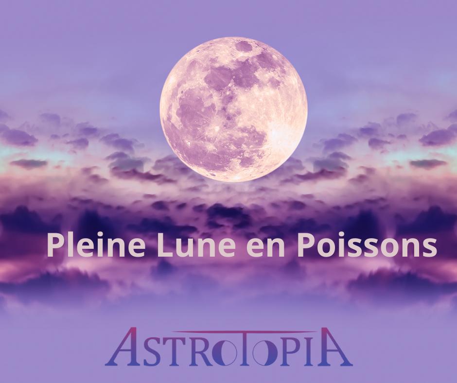 Pleine Lune en Poissons
