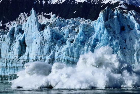 写真:星野道夫 ハバード氷河の崩壊