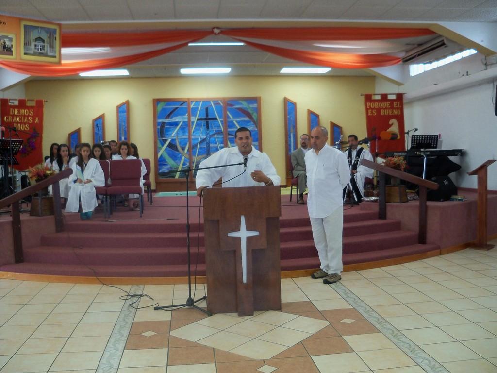 Abdiel Cordero testifica el cambio que Dios hizo en el