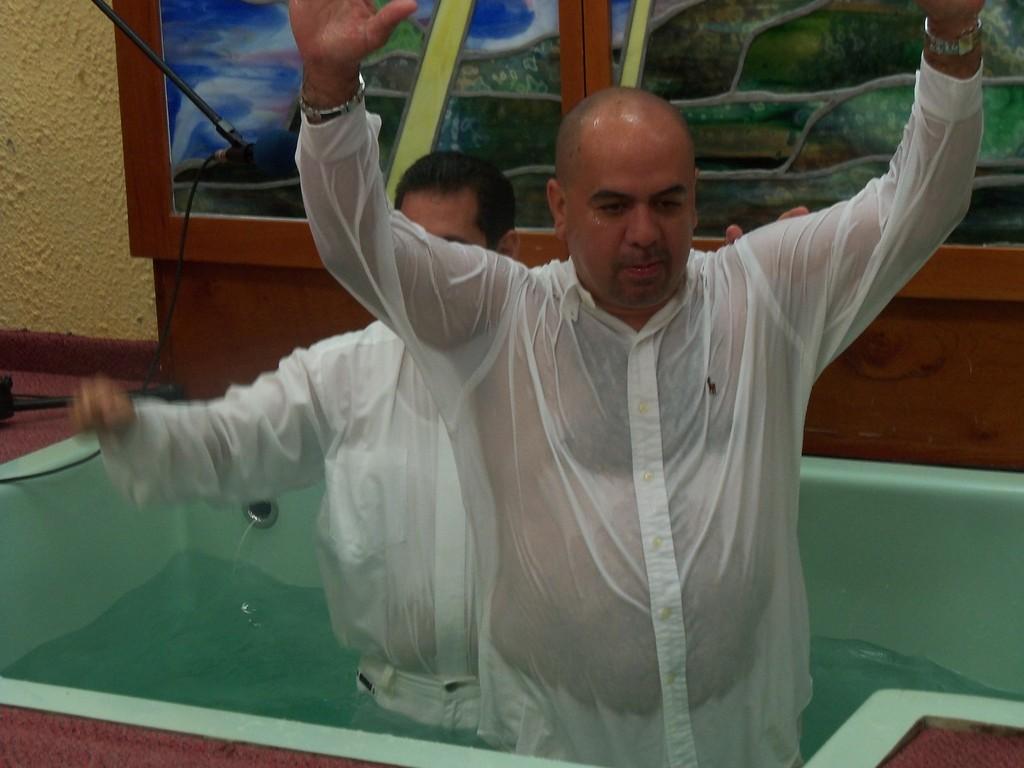 Carlos Molina fue bautizado