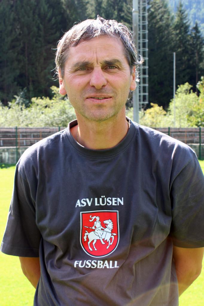 Trainer Ernst Kaneider