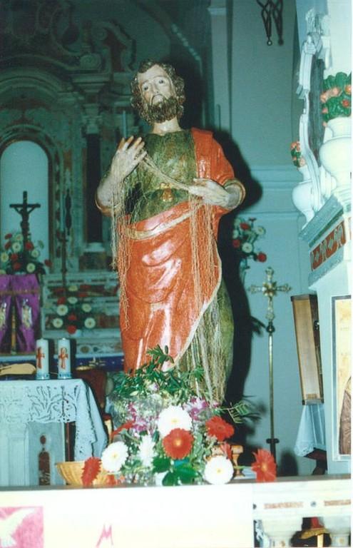 La statua riprende la sua collocazione in cattedrale, è il 30 novembre del 1997, festa di Sant'Andrea.