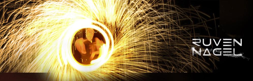 Ruven Nagel - spektakuläre Feuershow