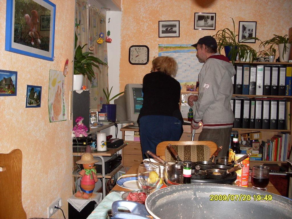 Linde und Chris im Sendestudio Emmendingen für Ballermann-Radio