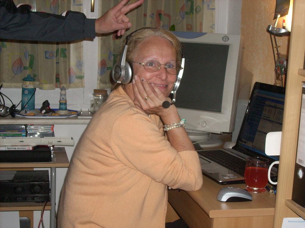 Linde am Senden bei Ballermann-Radio.de Sendestudio Emmendingen