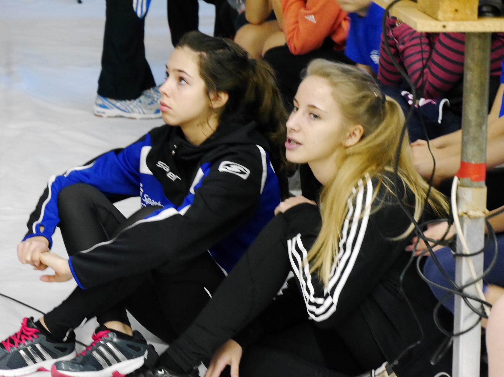 Franziska Thiele und Tina Pulz