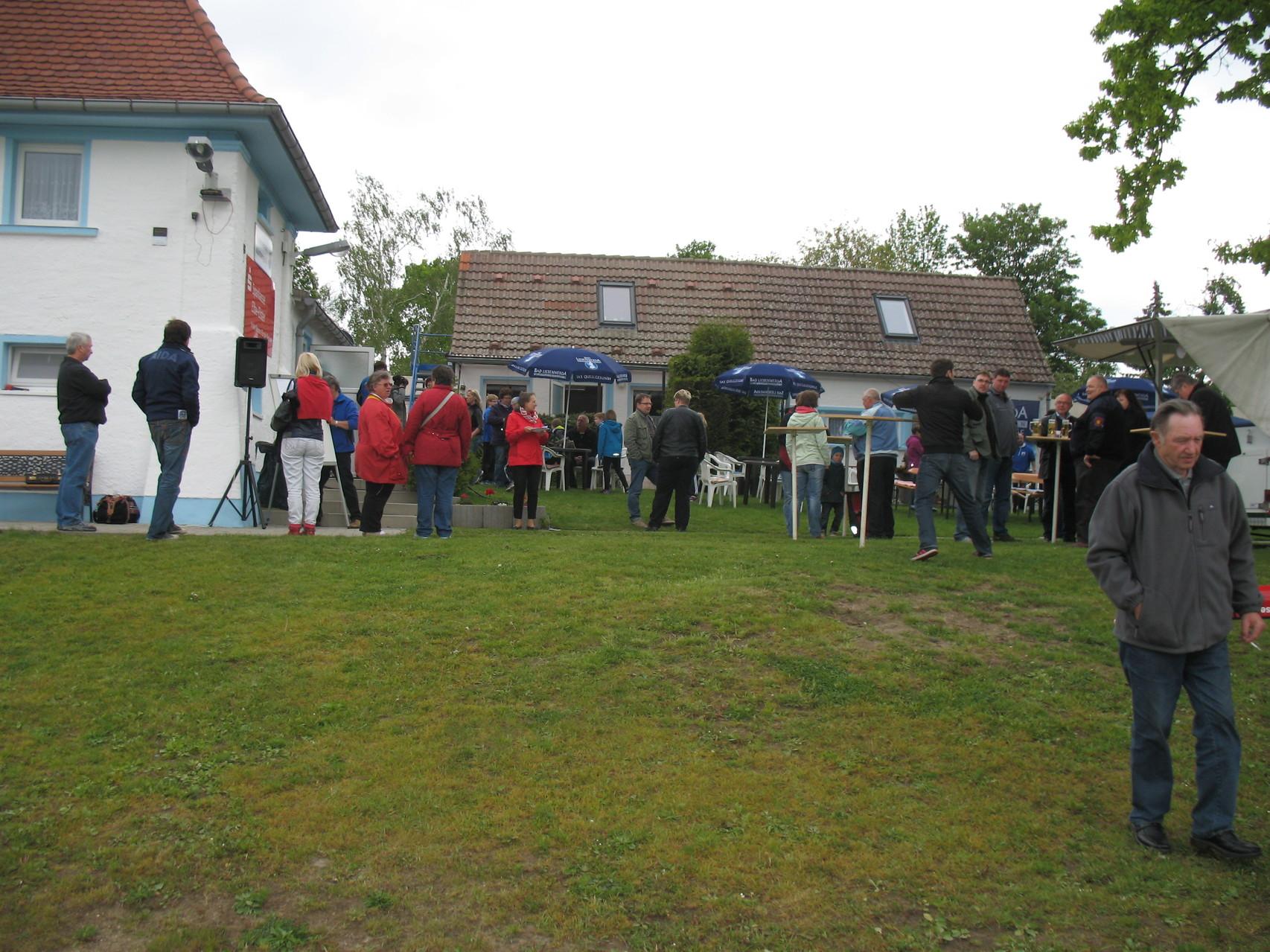 Zahlreiche Besucher fanden den Weg zum Bootshaus.