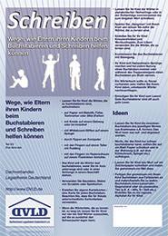 ElternInfo zur Hilfe bei LRS, Legasthenie