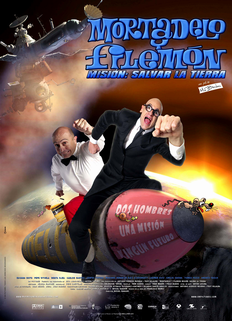 MORTADELO Y FILEMÓN I (2008)