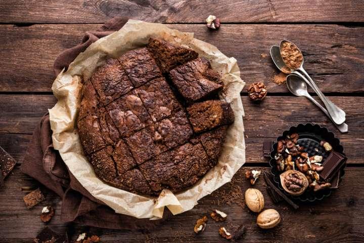Gâteau chocolat amandes sans gluten ni produits laitiers 🍫