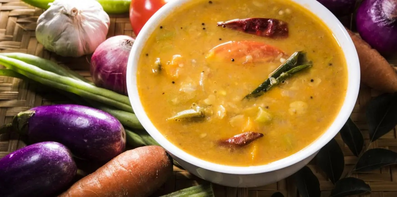 Le Sambar : une soupe traditionnelle venue d'Inde
